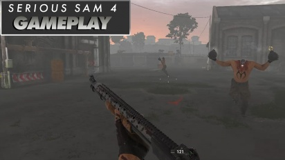 Serious Sam 4: Planet Badass - Gameplay-Video, Part 2