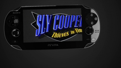 Sly Cooper: Thieves in Time - Augmented Reality Trailer
