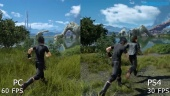 Final Fantasy XV - Grafikvergleich PC vs. PS4
