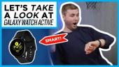Galaxy Watch Active: Quick Look