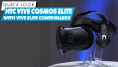 HTC Vive Cosmos Elite mit Vive Elite Controllern - Quick Look