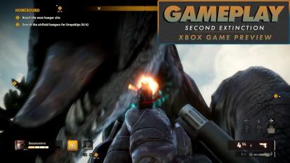 Second Extinction - 25 Minuten aus der Early-Access-Version für Xbox (Gameplay)