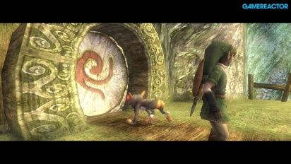 The Legend of Zelda: Twilight Princess HD - Gameplay - Neue Schwert-Technik und Waldschrein