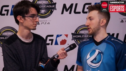 CWL Anaheim - Josiah 'Slacked' Berry Interview (Sunday)