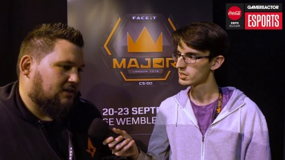 Faceit Major - Zonic Interview