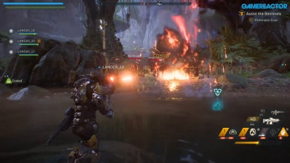 Anthem - Assisting Sentinels Gameplay