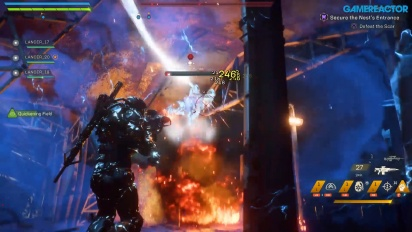 Anthem - Secure the Nest Gameplay Part 2