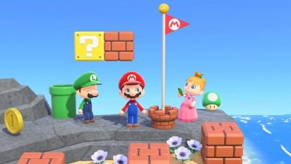 Animal Crossing: New Horizons - Super Mario Collaboration Items