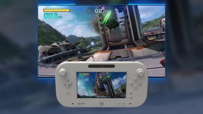 Star Fox Zero - Gameplay Video Wii U Gamepad (japanische Version)