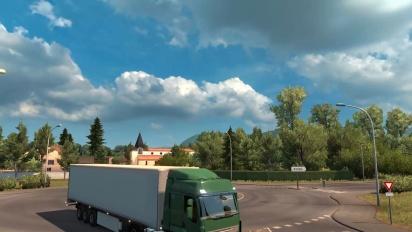 Euro Truck Simulator 2 - Vive la France! DLC trailer