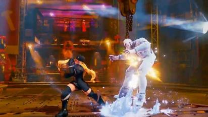 Street Fighter V - Kolin Reveal Trailer