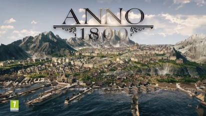 Anno 1800 - Announcement Trailer
