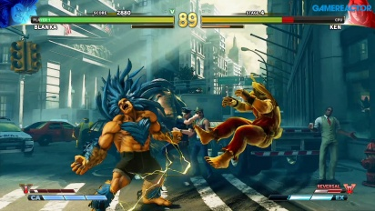 Street Fighter V: Arcade Edition - Blanka vs. Ken