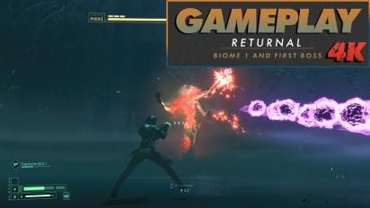Returnal - Overgrown Ruins in 4K (Gameplay)