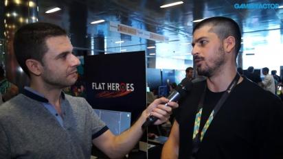 Flat Heroes - Interview Lucas González