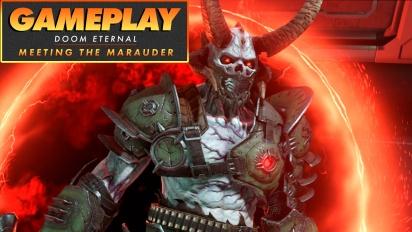 Doom Eternal - Meeting the Marauder (Gameplay)