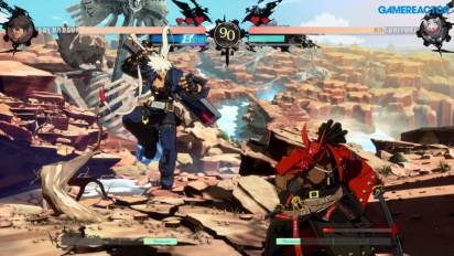 Guilty Gear: Strive - Sol Badguy vs. Nagoriyuki (Open-Beta-Gameplay)