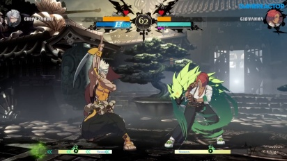 Guilty Gear: Strive - Chipp Zanuff vs. Giovanna (Open-Beta-Gameplay)