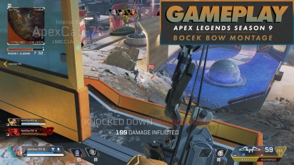 Apex Legends - Gameplay-Montage mit dem Bocek-Bogen (Gameplay aus Season 9: Legacy)