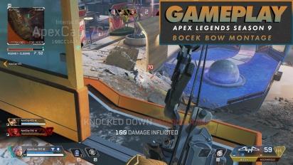 Apex Legends - Gameplay-Montage mit dem Bocek-Bogen (Gameplay aus Season 9: Legacy)