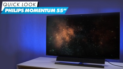Philips Momentum 55: Quick Look