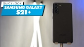Samsung Galaxy S21+: Quick Look