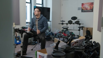Rock Band Rivals - Behind the Scenes: New Hardware