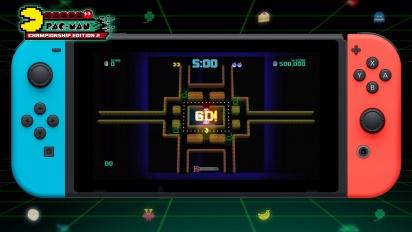 Pac-Man Championship Edition 2 Plus - Switch Trailer