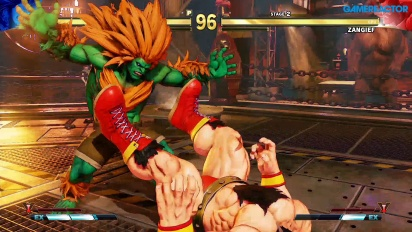 Street Fighter V: Arcade Edition - Blanka vs. Zangief