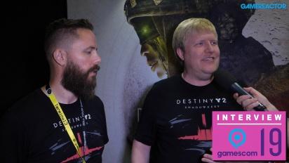 Destiny 2 - Interview mit Scott Taylor und Örvar Halldórsson