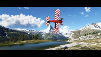 Microsoft Flight Simulator - World Update #6 Trailer (Austria, Germany, Switzerland)