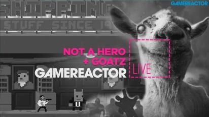 Not A Hero + Goat Simulator: GoatZ - Livestream-Wiederholung
