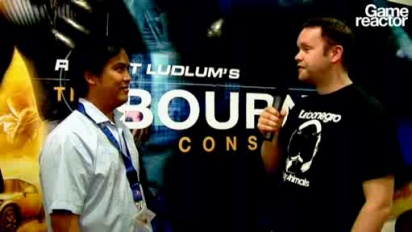The Bourne Conspiracy interview