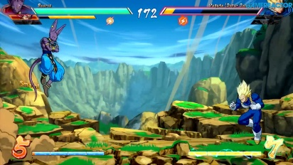 Dragon Ball FighterZ - Gameplay des lokalen Versus-Modus