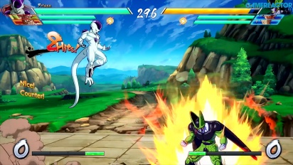 Dragon Ball FighterZ - Gameplay aus dem Arcade-Modus