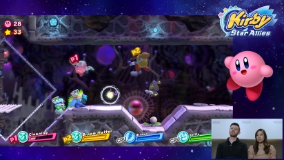 Kirby Star Allies - New Levels, Boss Fight, Co-op Gameplay, Nintendo Switch