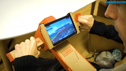 Nintendo Labo: Variety Kit - Angelrute und Motorrad Toy-Con Gameplay