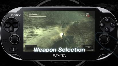 Metal Gear Solid HD PS Vita Launch Trailer