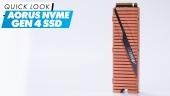 Aorus NVMe Gen4 SSD: Quick Look