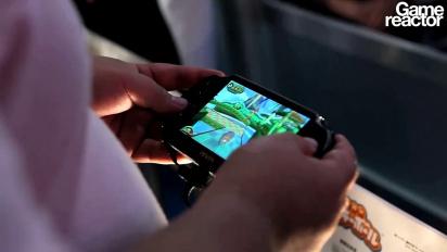 TGS 11: Super Monkey Ball Vita - Gameplay