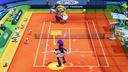 Mario Tennis: Ultra Smash - Gameplay - K.O.-Herausforderung mit Waluigi