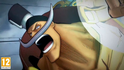One Piece: Burning Blood - Whitebeard Move Set - Trailer