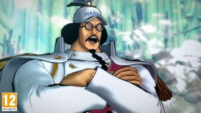One Piece: Burning Blood - Sengoku Move Set - Trailer