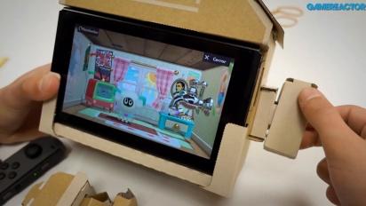 Nintendo Labo: Variety Kit - Haus Toy-Con Zusammenbau und Gameplay