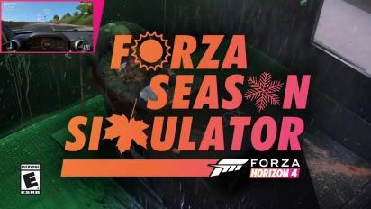 Forza Horizon 4 - Season Simulator with Celebs