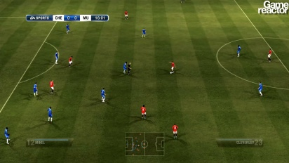 FIFA 12 - Gameplay Chelsea FC vs. Manchester United