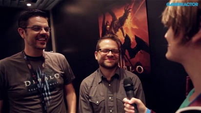 GC 13: Diablo III: Reaper of Souls - Interview Josh Mosqueira & Christian Lichtner