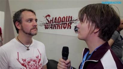 GC 13: Shadow Warrior - Interview Slawomir Uliasz