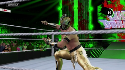 WWE 2K16 - Entrance Kalisto Trailer