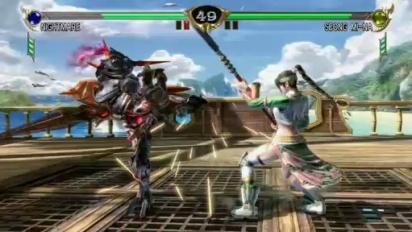 Soul Calibur IV - E3 2008: Seong Mi-Na vs. Nightmare Gameplay Trailer